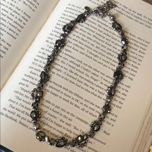 Sorrelli Black Ice Line Necklace